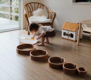 como aplicar el metodo montessori en casa