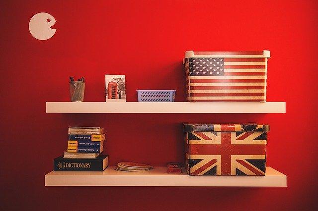 Espacio destinado al estudio del inglés